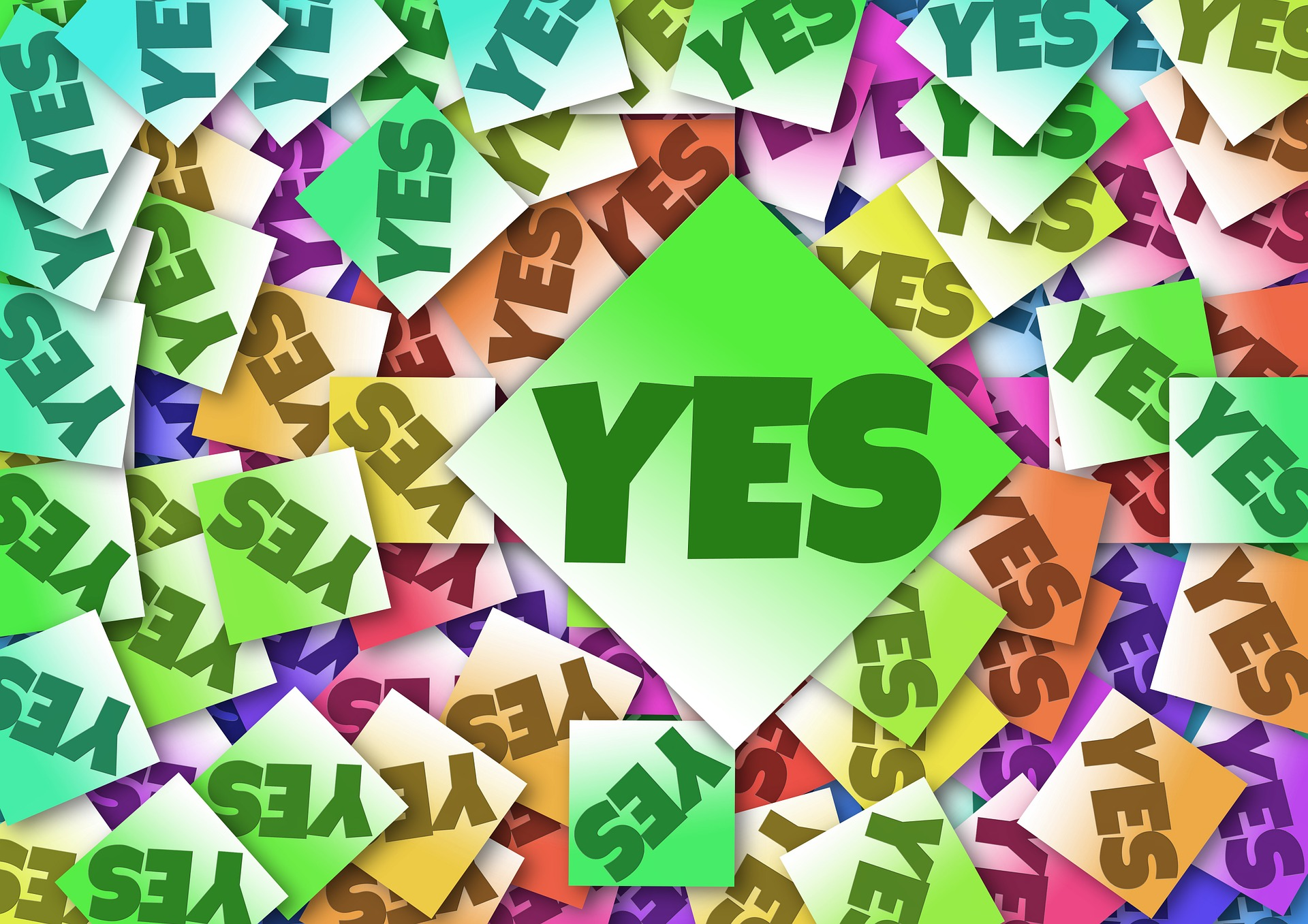 Sales training - helping customers to say yes