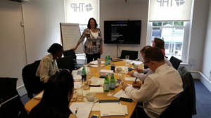 Janet Efere training in London